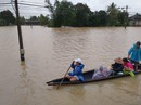 Thừa Thiên - Huế: Lũ chưa rút đã lo lũ mới