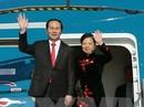 Chủ tịch nước Trần Đại Quang lên đường thăm Trung Quốc