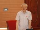 Tổng Bí thư: Từ Ủy viên Trung ương phải không tham vọng quyền lực