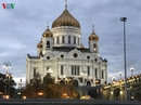 Những tòa nhà lộng lẫy soi bóng trên dòng sông Moskva