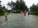 Áp thấp tiến vào, Côn Đảo bị ngập trong mưa lớn