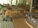 'Hai Lúa' chế tạo máy và xuất thảm xơ dừa sang Hàn Quốc