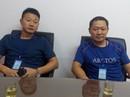 Bắt quả tang 2 thương lái Trung Quốc thu mua tôm trái phép