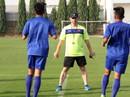 HLV Hoàng Anh Tuấn trình làng trợ lý đến từ Real Madrid