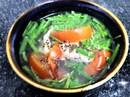 Mộc mạc canh cá nục bông nấu ngót