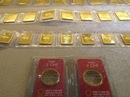 Vàng SJC ngang bằng với giá thế giới