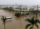 Nước lũ tại Huế lại lên, Đà Nẵng hàng ngàn hộ dân còn ngập