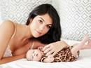 Lộ diện hình ảnh con gái mới nhất của Ronaldo