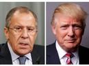 """Ông Trump """"tiết lộ tin tuyệt mật cho ngoại trưởng Nga"""""""