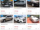 """Xe mới giảm giá trăm triệu đồng, xe cũ, giá rẻ bị """"quay lưng"""""""