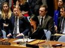 """Cánh tay """"sóng gió"""" của nữ đại sứ Mỹ tại cuộc bỏ phiếu của LHQ"""