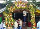 Chùm ảnh: Về miền Tây dự đám cưới có cổng lá dừa