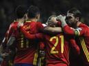 Dàn sao Tây Ban Nha mở đại tiệc bàn thắng trước Israel