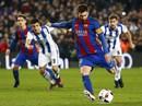 Bộ đôi Suarez lập công, Barcelona vào bán kết Cúp Nhà vua