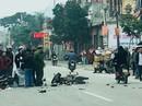 2 xe máy va chạm kinh hoàng trên QL1A, 4 người nguy kịch