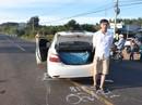 Chạy trốn CSGT, taxi chở pháo lậu đâm xe đầu kéo