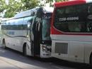 Xe khách đụng nhau trên đèo Bảo Lộc, hơn 80 người hoảng loạn
