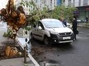 Bão mạnh tàn phá Moscow
