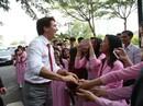 Sức hút của Thủ tướng Canada tại TP HCM