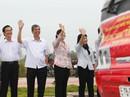 Xúc động lễ tiễn hơn 2.200 công nhân về quê ăn Tết