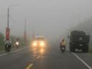 Sương mù xuất hiện nhiều nơi ở ĐBSCL
