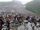 Lở đất dữ dội ở Trung Quốc