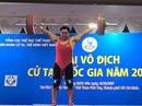 Tín hiệu vui của cử tạ Việt Nam