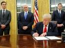 Ông Trump cứng rắn ngay khi nhậm chức