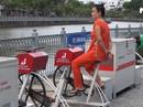 Dàn xe đạp lọc nước ở kênh Nhiêu Lộc bị hư hỏng