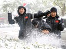 Trước đại chiến Uzbekistan, U23 Việt Nam háo hức nghịch tuyết