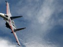 """Đối đầu trên biển: Chiến đấu cơ Nga """"phụt khói"""" vào máy bay do thám Mỹ"""
