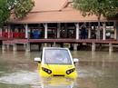"""Xe hơi """"chống"""" sóng thần"""