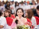 Á hậu Phương Nga về trường trước khi dự Miss Grand International 2018