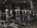 Phong tỏa hiện trường vụ cháy cây xăng ở quận 12