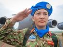 """Những """"bóng hồng"""" quân y Việt Nam sang châu Phi gìn giữ hòa bình"""