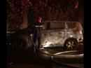 Xế hộp của 1 nữ giám đốc nghi bị đốt cháy trong đêm