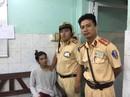 CSGT Bến Thành bắt nóng tên cướp giữa trung tâm TP HCM