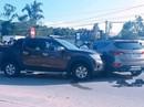 2 nhóm đi ô tô va chạm giao thông rút súng, hung khí hỗn chiến trên QL 1A