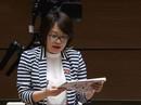 """Đại biểu Phạm Thị Minh Hiền truy gắt vụ """"sinh viên bán dâm"""""""