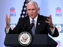 Phó Tổng thống Pence: Mỹ sẽ không rút lui ở biển Đông