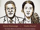"""Nobel Hòa bình 2018 vinh danh """"chiến binh"""" chống bạo lực tình dục"""