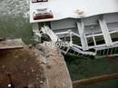Một phần cầu nối Nga - Crimea gặp sự cố, rơi xuống biển