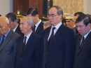 TP HCM: Xúc động tiễn biệt nguyên Tổng Bí thư Đỗ Mười