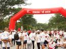 Hàng ngàn người tham gia chạy từ thiện