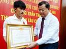 Tặng huân chương cho ngư dân dũng cảm