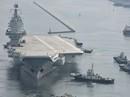 """Tàu sân bay tự chế mới của Trung Quốc """"trúng đòn"""" Mỹ"""