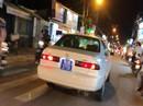 Phạt Phó Ban quản lý chung cư tái định cư vì lái xe biển xanh 80B
