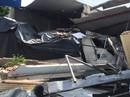 TP HCM: Xe tải nổ lốp, lao đầu vào nhà dân