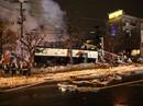 Hàng chục người đang dùng bữa, nhà hàng nổ tan tành