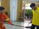 Dạy kỹ năng tự vệ cho công nhân vệ sinh